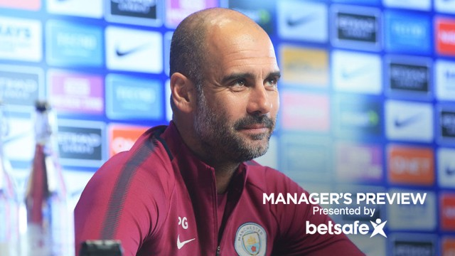 TEAM NEWS: Pep Guardiola discusses the Leicester game.