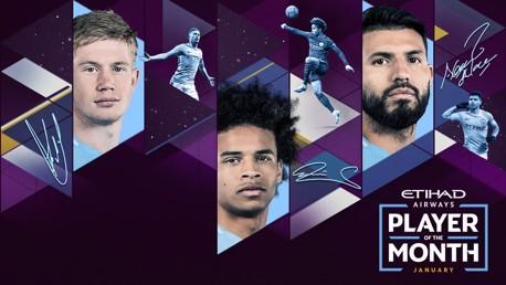 ¿Quién ha sido el mejor jugador del City en enero?