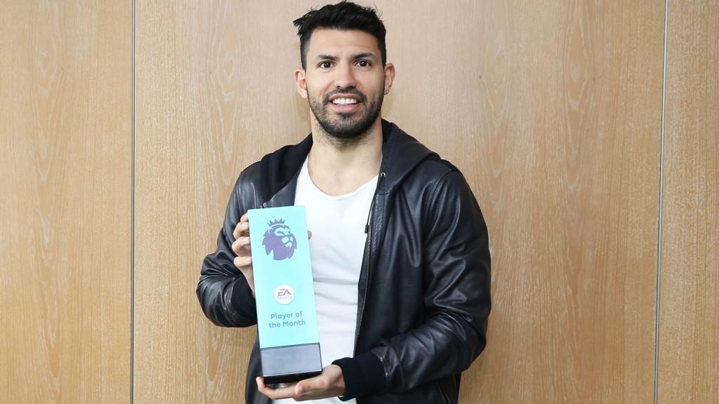 Aguero lands Premier League Player award - Manchester City FC d582de52bdc