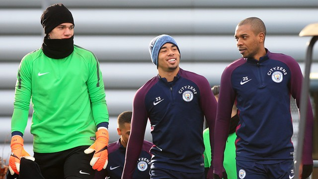TRAINING: Look who made an appearance at today's session!