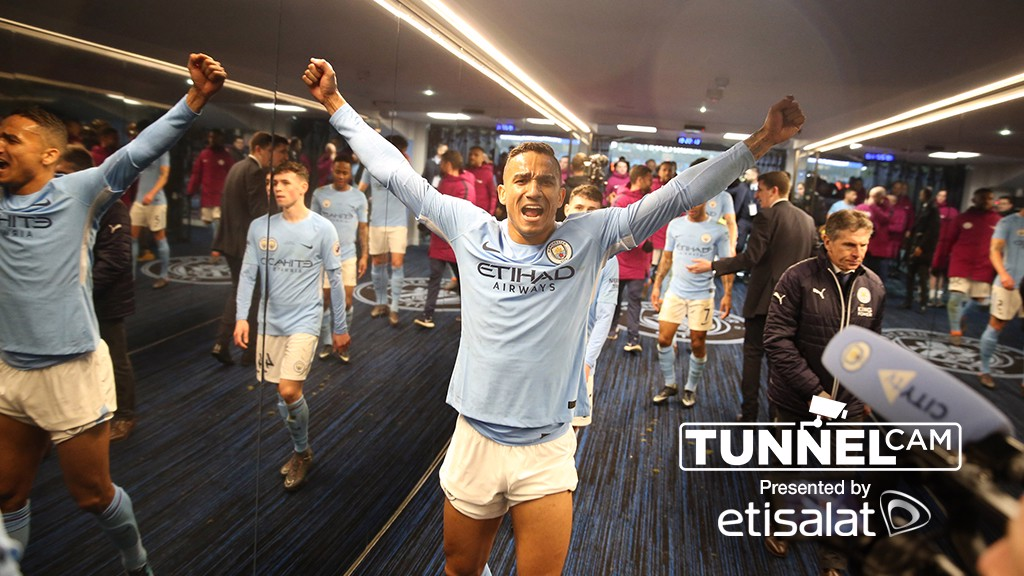 TUNNEL CAM Behind the scenes at City v Leicester