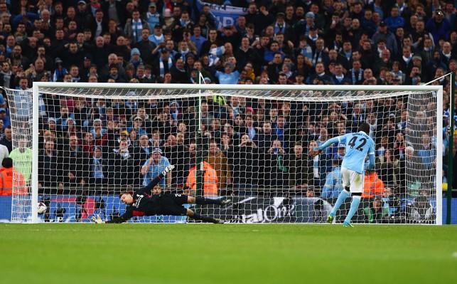 2016: Another angle of Yaya's winning spot-kick versus Liverpool