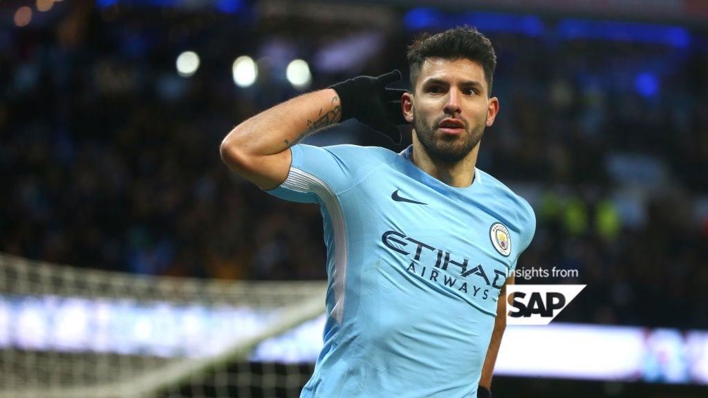 Sergio Aguero Stats Versus Newcastle- Manchester City FC