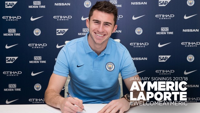 DONE DEAL: Aymeric Laporte