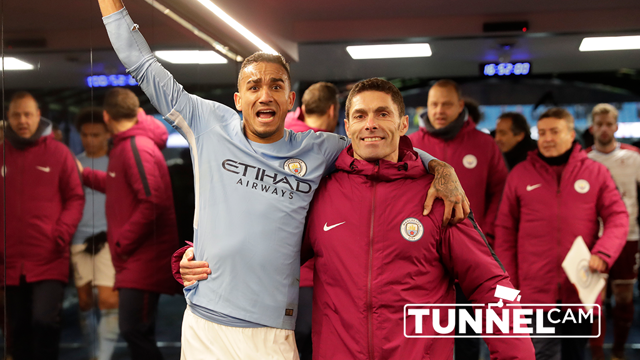 TUNNEL CAM: Go behind the scenes as City beat Burnley on the FA Cup third round