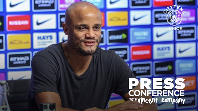 CITYZENS: Kompany answers questions from junior Cityzens