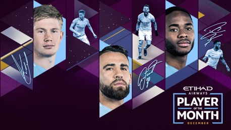 Etihad Player of the Month: Vote sekarang!