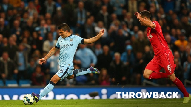 THROWBACK: We take a glance back at City's 3-1 win over Liverpool from 2014.