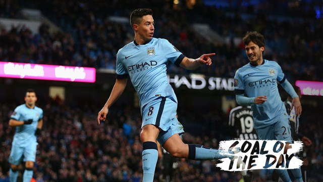 GOTD: Go back to 2015 and relive Samir Nasri's brilliance against Newcastle
