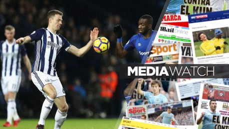DEAL CLOSE?: City are rumoured to be trying to tie up a deal for West Brom defender Jonny Evans