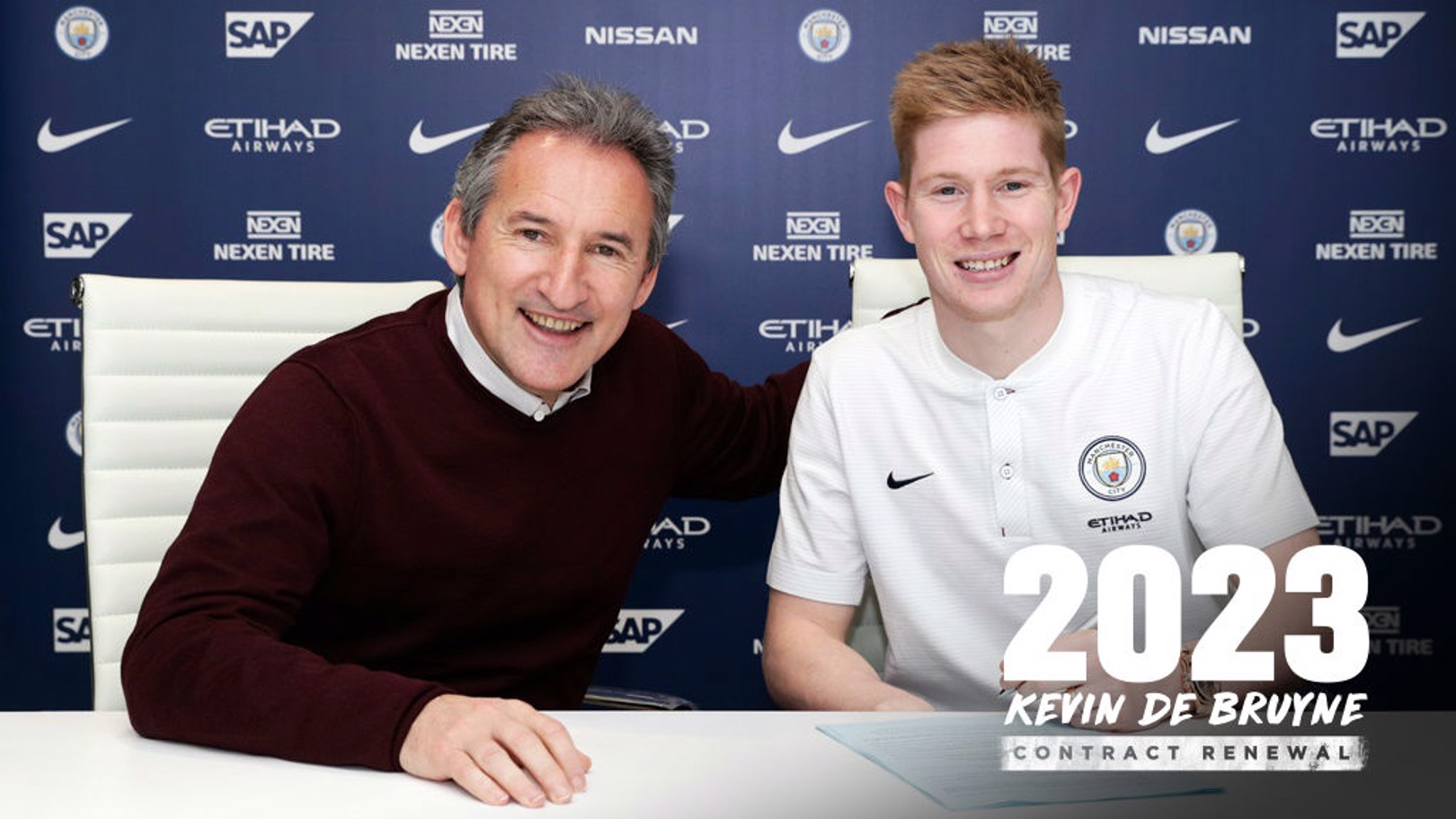 SIGNED AND SEALED: KDB pens new contract