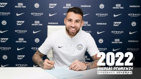 SIGNED: Nico has committed his long-term future to City