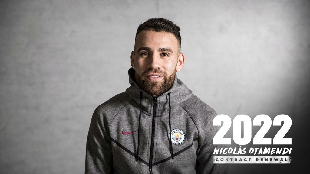 Nicolas Otamendi signs new deal: Manchester City still want new defender though