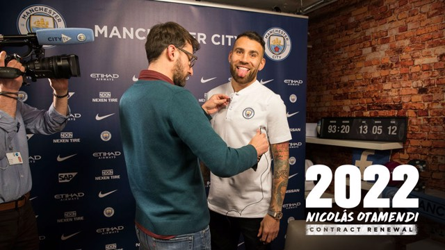 INTERVIEW: Nicolas Otamendi answered Cityzens questions after signing his new contract.