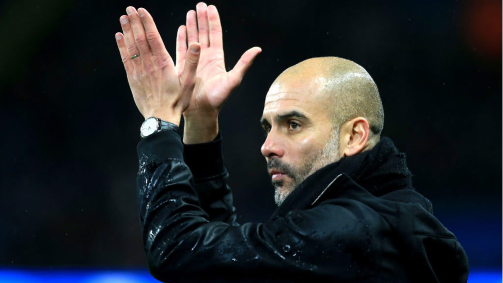 LEADING MAN: Pep Guardiola has been nominated for December's Premier League manager of the month award