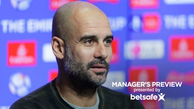 CUP CHALLENGE: Pep Guardiola outlined his thoughts ahead of Saturday's FA Cup third round clash with January