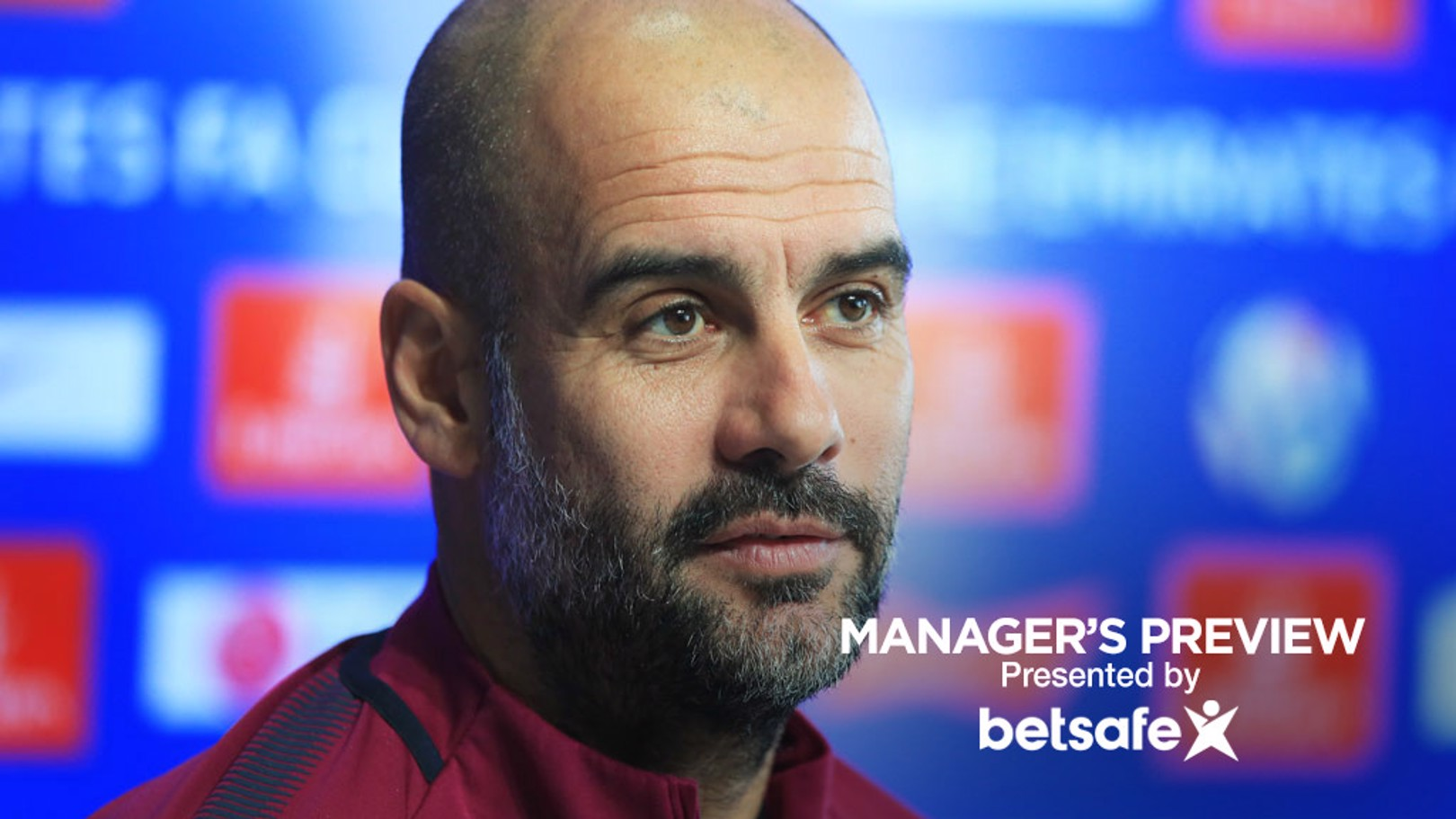 PRESS CONFERENCE: Pep Guardiola takes the journalists' questions ahead of the game
