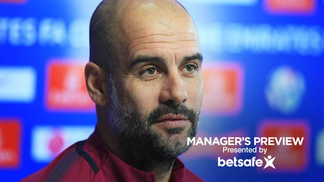 PRE-MATCH: Pep Guardiola takes the journalists questions ahead of Sunday's game at Cardiff City.