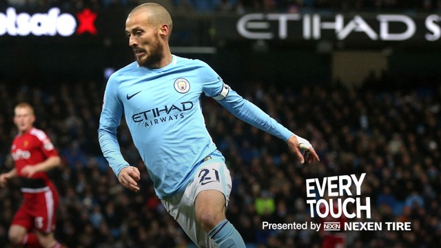 DAVID SILVA: Watch the Spaniard's every touch against Watford.