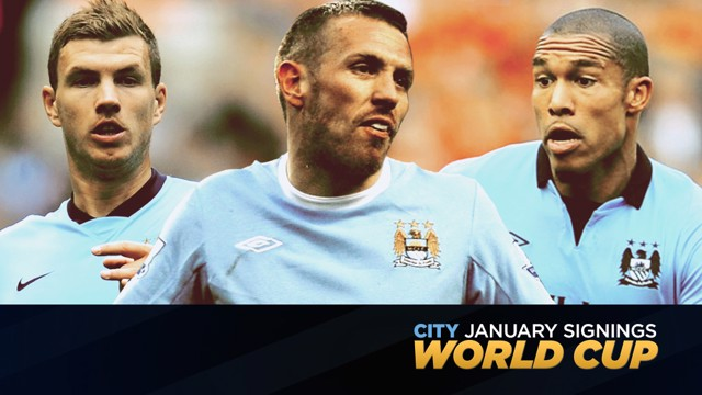 TRANSFERS:  Take a look back at who City have signed in previous January windows.