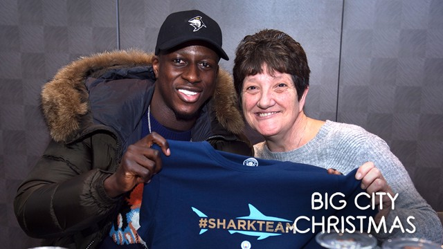 ALL SMILES: Yvonne with Benjamin Mendy