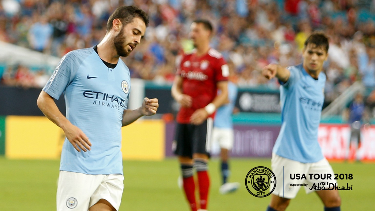 BRILLIANT BERNARDO: The Portugal man bagged twice against Bayern Munich