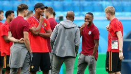 WORLD IN ACTION: John Stones, Vincent Kompany, Fabian Delph, Raheem Sterling and Kevin De Bruyne share their experiences