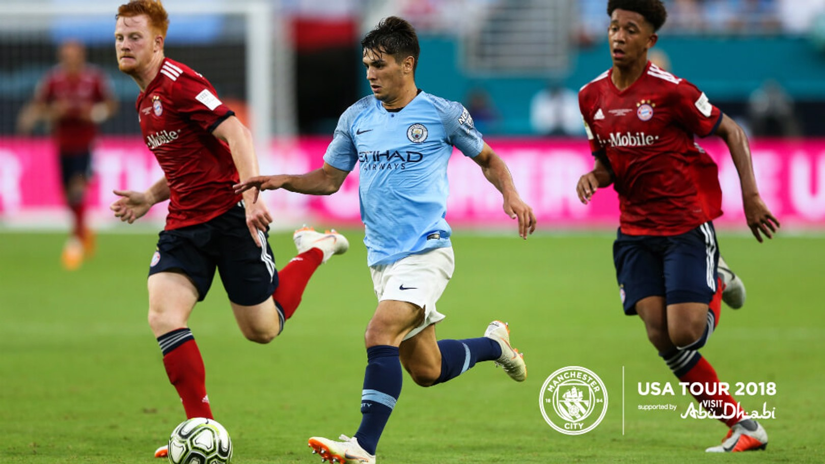 DANGEROUS DIAZ: The Spaniard says City's pre-season tour of the US has been 'an amazing experience' for the Club's budding Blues...