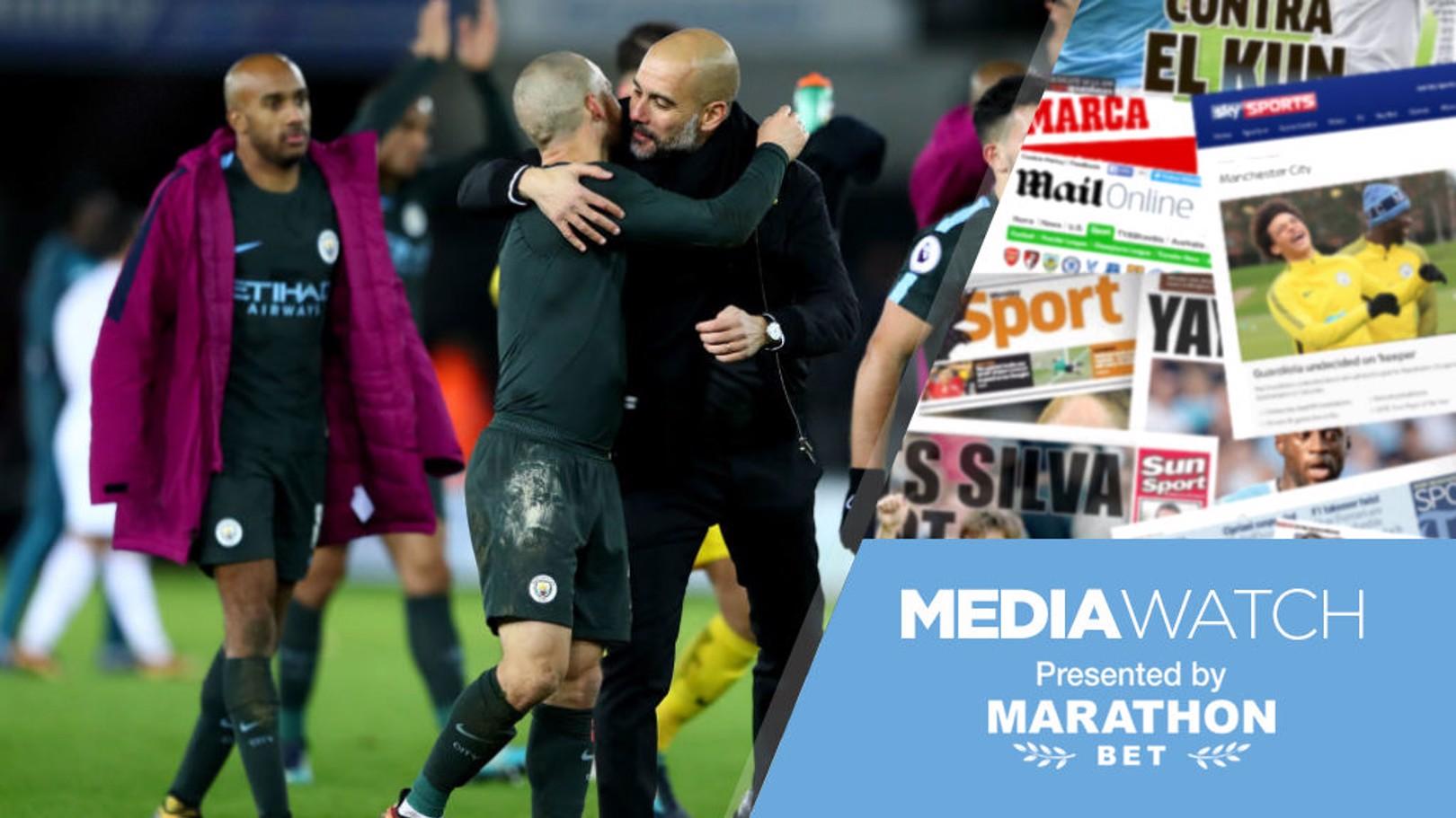 MEDIA WATCH: David Villa has praised the impact Pep has had on Silva
