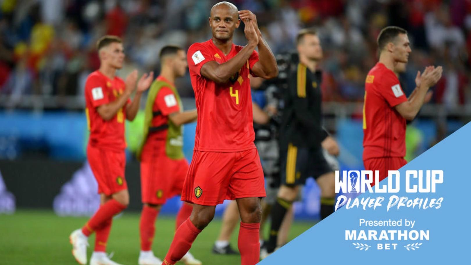 RUSSIA 2018: Vincent Kompany is still a key member of the Belgium squad