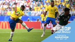 RUSSIA 2018: Gabriel Jesus has started all four of Brazil's games at the World Cup