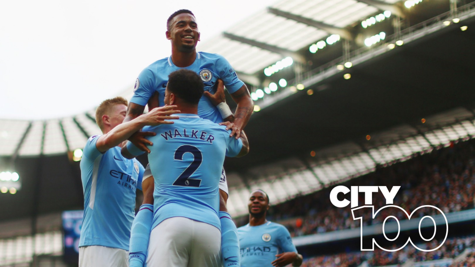 GOALS GALORE: City smashed the record for the highest number of Premier League goals scored in a season...