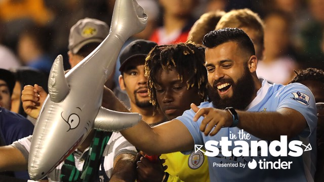 IN THE STANDS: We hear from City fans in Chicago