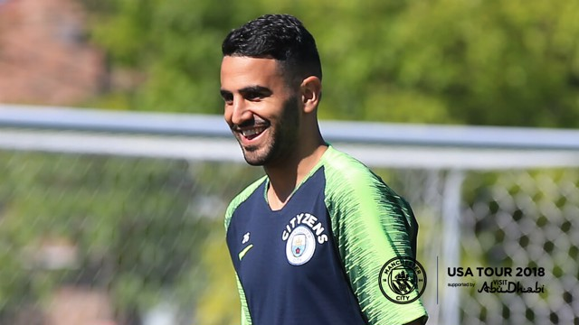 READY TO GO: Riyad Mahrez speaks to CityTV about his first days at City...