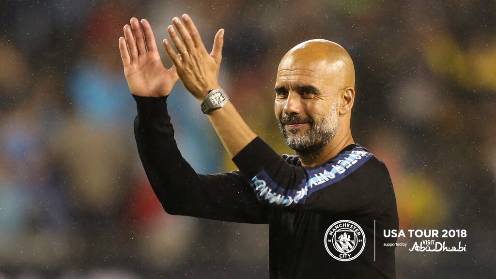 US TOUR 2018: Pep has heaped praise on a trio of players after defeat to Dortmund in Chicago