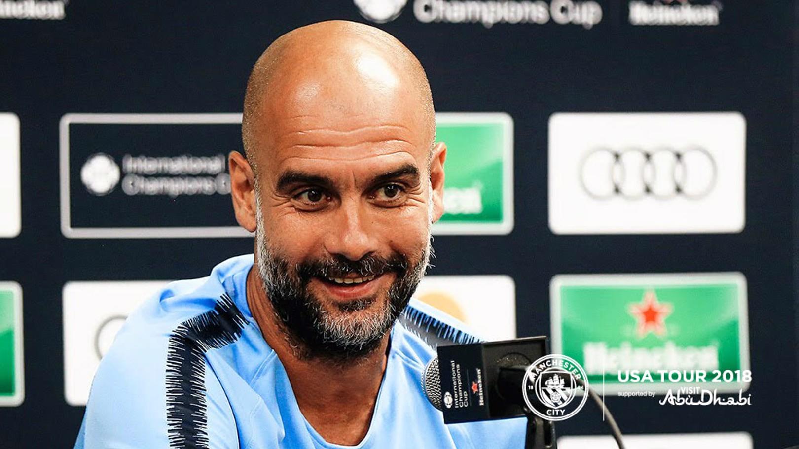 PRESS CONFERENCE: Pep Guardiola previews Bayern v City...