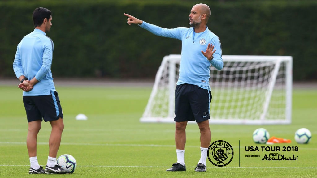 US TOUR 2018: Pep has named his squad for the pre-season tour of the US