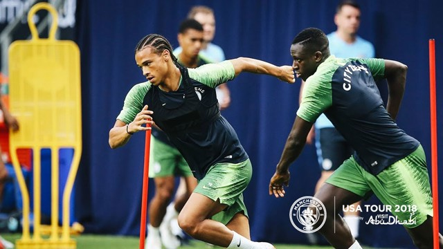 US TOUR 2018: Mendy is back in training