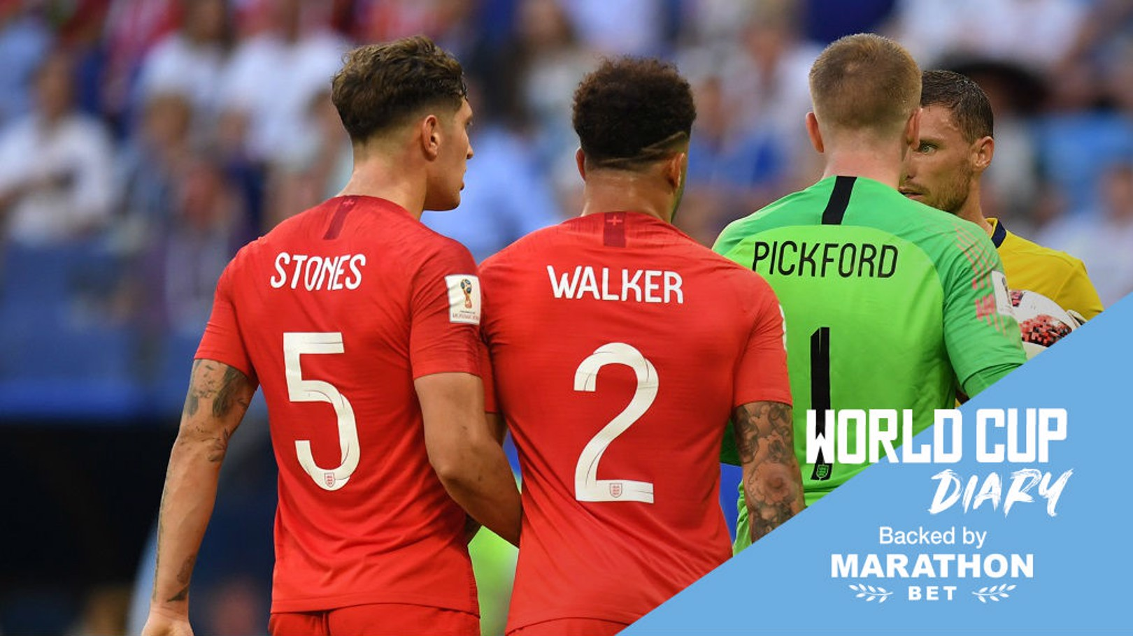รอบรองชนะเลิศฟุตบอลโลก 2018 ครั้งนี้ มีผู้เล่นจากซิตี้ผ่านเข้าไปได้ถึง 7 คน