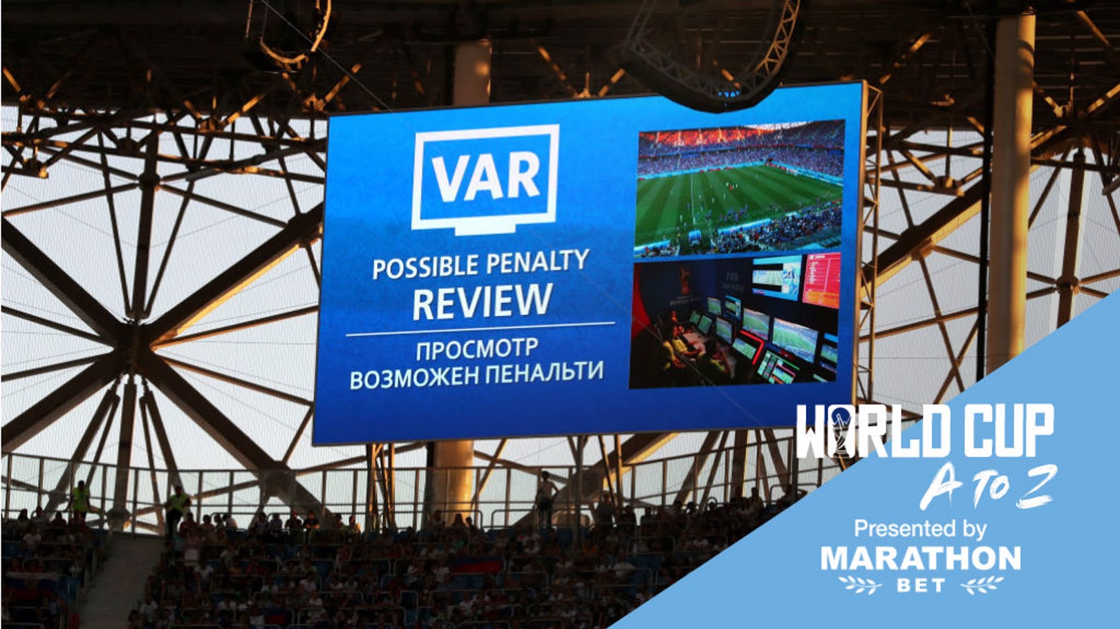 PLAY IT AGAIN: The advent of VAR has only helped add to the drama of the World Cup finals