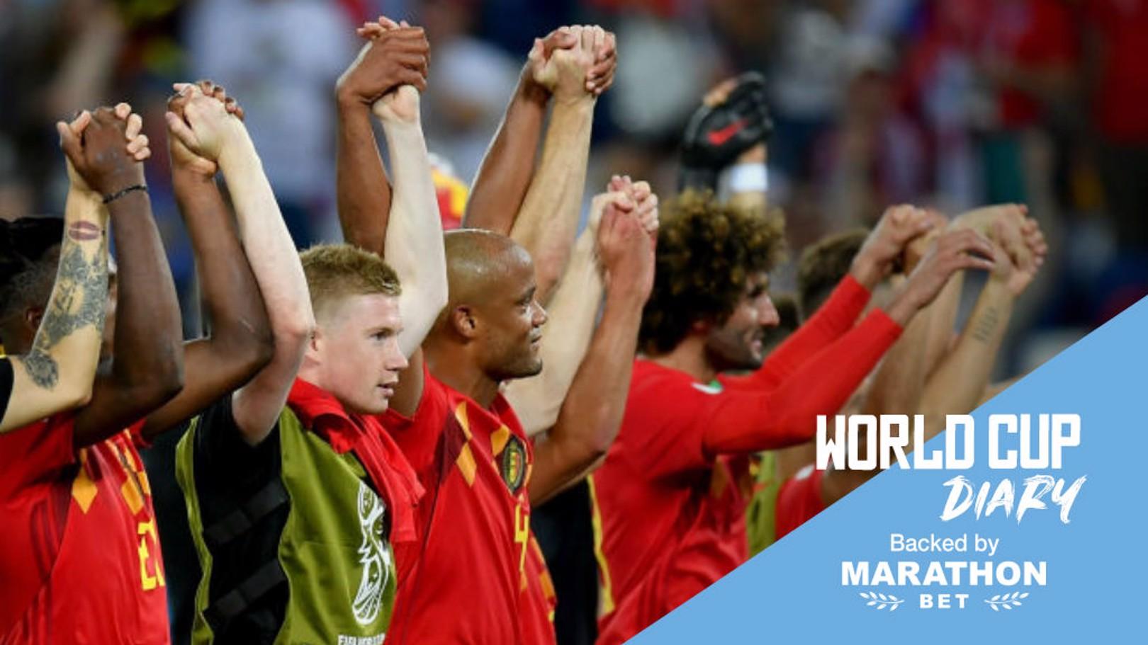 CUARTOS DE FINAL. El Brasil-Bélgica, cabeza de cartel.