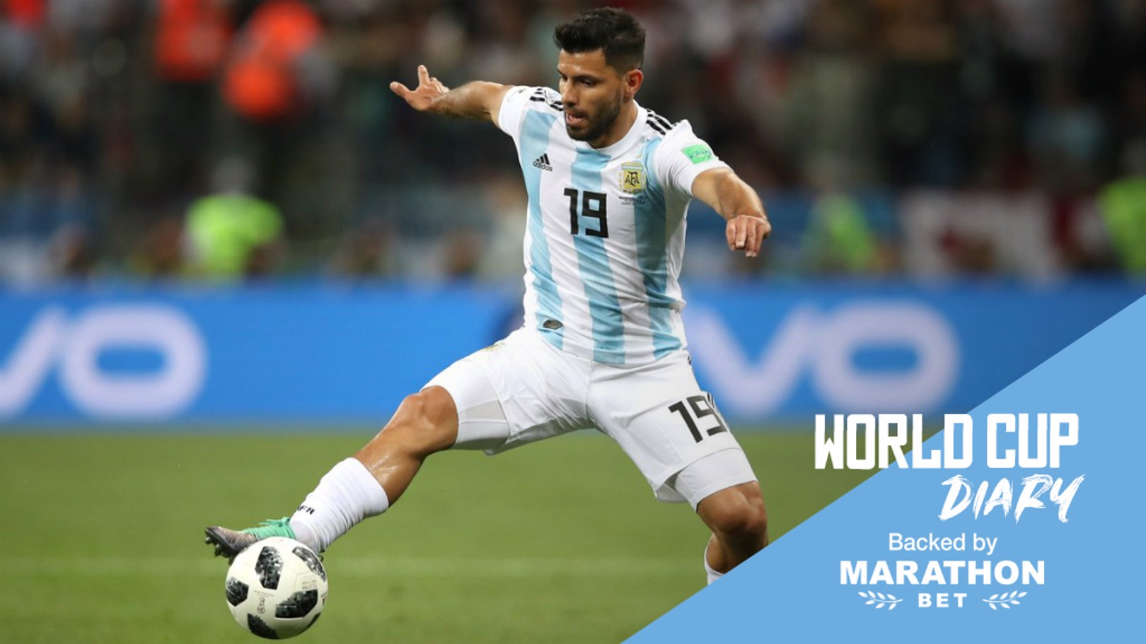 AGUERO OUT?: Will Sergio Aguero feature for Argentina against Nigeria?
