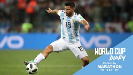 ¿Participará Agüero en el decisivo encuentro de Argentina frente a Nigeria?