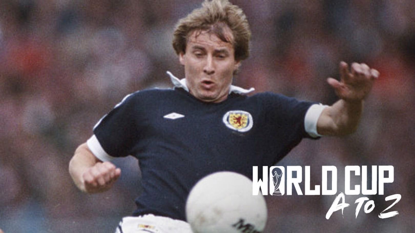 Asa Hartford jugó dos Mundiales con Escocia.