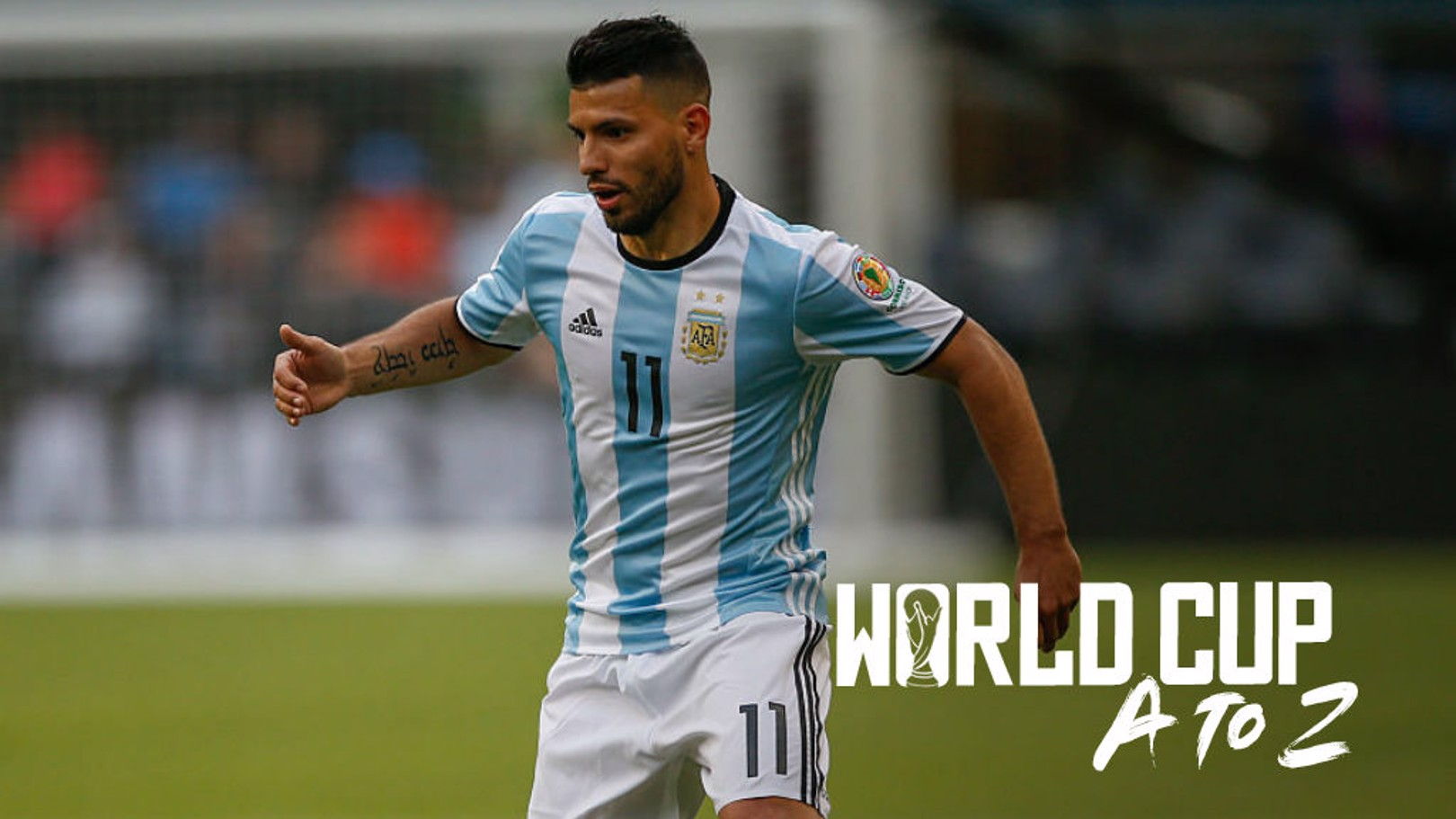 LETHAL WEAPON: Sergio Aguero will be hoping to help shoot Argentina to World Cup glory in Russia