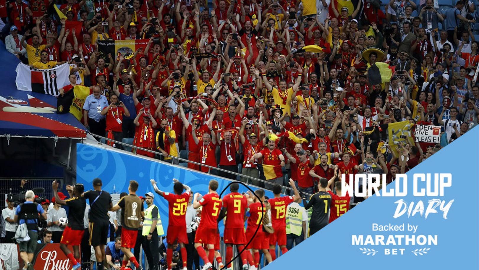 เบลเยียม กับแมตซ์สำคัญสู่รอบ 16 ทีมสุดท้าย ฟุตบอลโลก 2018