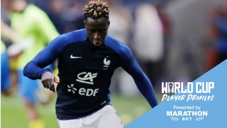 GREAT EXPECTATIONS: Benjamin Mendy is part of a hugely-talented French World Cup squad