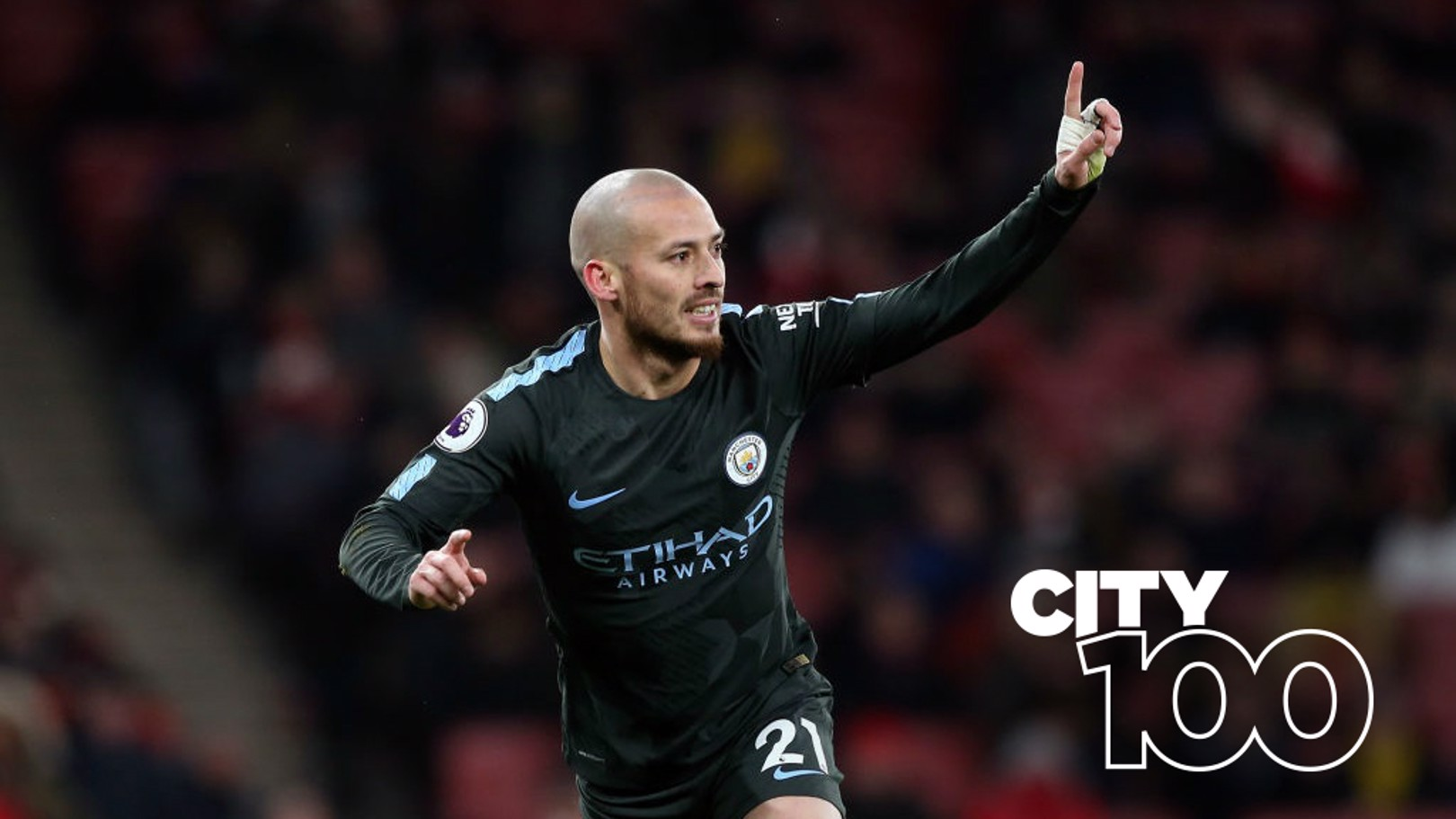 EL MAGO: David Silva produced a mesmeric display in the triumph at Arsenal...