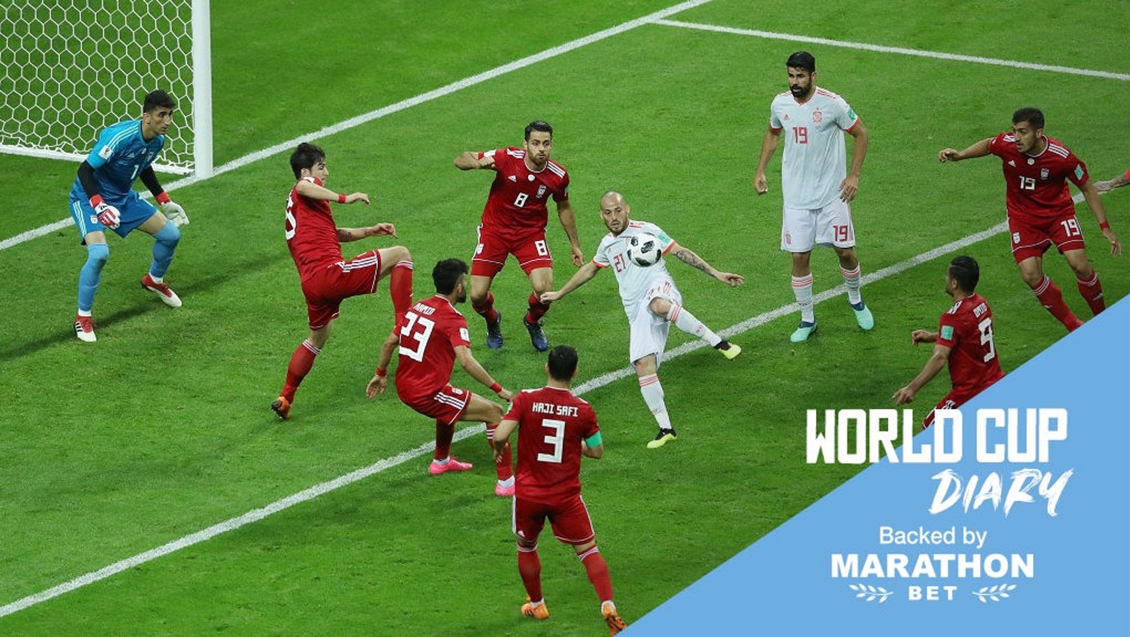 سيلفا يتألق في فوز إسبانيا على إيران بالمونديال