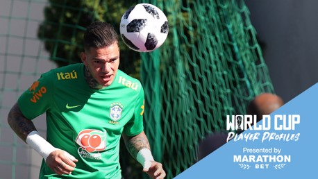 SAFE HANDS: Putting the spotlight on Brazilian shot-stopper Ederson...